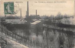 Miribel Les Usines Au Moment Des Inondations - Miribel