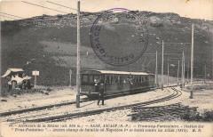 Ascension De La Rhune Sare Ascain Tramway Funiculaire Station Des Trois F - Sare