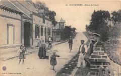 Les Bordes Route De Lorris (cliché rare - Lorris
