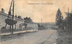 Lamarche L'Avenue De La Gare (cliché rare - Lamarche