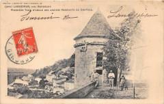 Langoiran Premiere Tour D'Angle Des Anciens Remparts Du Chateau (dos non - Langoiran