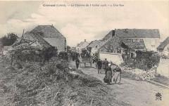 Cravant Le Cyclone Du 3 Juillet 1905 Une Rue - Cravant