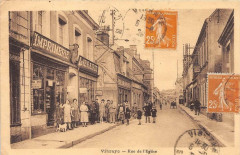 Vibraye Rue De L'Eglise - Vibraye