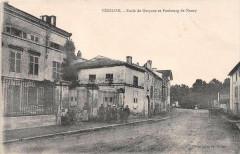 Vezelise Ecole De Garcons Et Faubourg De Nancy - Vézelise