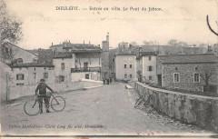 Dieulefit Entre En Ville Le Pont Du Jabon - Dieulefit