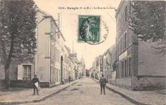 Nangis La Rue De La Gare - Nangis