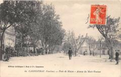 Carpentras Poste De Mazan Avenue Du Mont Ventoux (cliché pas courant - Carpentras