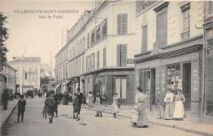 Villeneuve Saint Georges Rue De Paris (dos non divisé) 94 Villeneuve-Saint-Georges