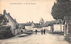 Davenescourt La Rue Du Chateau - Davenescourt