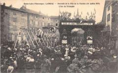 Langeac Souvenir De La Fete De La Victoire 1919 L'Arc De Triomphe - Langeac