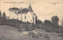 La Lozere Illustree Le Chateau De Soulage Pres Auroux (cliché pas courant - Auroux