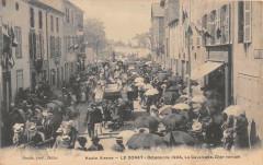 Le Dorat Ostensions 1904 La Cavalcade Char Romain (Grosse Animation Cpa P - Le Dorat