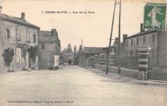 Somme Suippe Rue De La Dava (cliché pas courant - Somme-Suippe