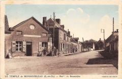Le Temple De Mondoubleau Route De Beauchene (pas courante - Mondoubleau