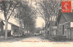 Montmoreau Route De Chalais - Montmoreau