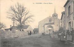 Fleuriel Place De L'Eglise - Fleuriel
