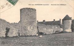 Gy Les Nonains Ruines De L'Abbaye - Gy-les-Nonains