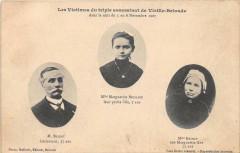 Les Victimes Du Triple Assassinat De Vieille Brioude 1907 (cpa rare - Brioude