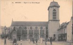 Arcueil Eglise Et Rue Emile Raspail 94 Arcueil