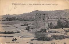 Vallon Usine D'Electricite Sur L'Ardeche A Salavas - Salavas