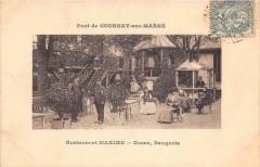 Pont De Gournay Sur Marne Restaurant Maxime Noces Banquets (cliché rare a - Gournay-sur-Marne