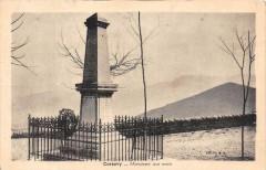 Corsavy Monument Aux Morts (cliché rare éditeur Boix - Corsavy