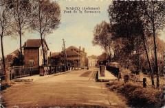 Warcq Ardennes Pont De La Sormonne (cliché pas courant - Warcq