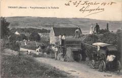 Troissy Vue Pittoresque A La Tuilerie ( Machine Agricole Scene De Fenaiso - Troissy