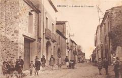 Brignac Rue De Clermont (cliché rare - Brignac