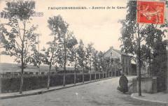 Fauquembergues Avenue De La Gare (voir verso - Fauquembergues
