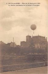 Rive De Gier Fete Du 10 Septembre 1922 Le Ballon Au Dessus De La Caisse D - Rive-de-Gier