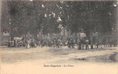 Saint Hippolyte Salanque La Place (avec animation - Saint-Hippolyte