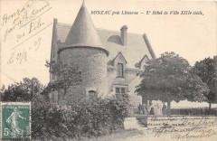 Bonzac Pres Libourne L'Hotel De Ville (cliché pas courant - Bonzac