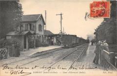 Ermont Gare D'Ermont (Train En Gare - Ermont