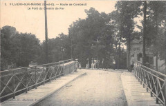 Villiers Sur Marne Route De Combault Le Pont Du Chemin De Fer 94 Villiers-sur-Marne