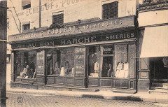 Gannat Magasin Au Bon Marche Confections G.poudrat Nouveautes Soieries (c - Gannat