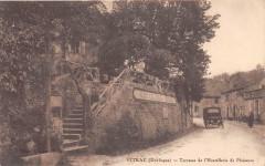 Vitrac Terrasse De L'Hostellerie De Plaisance (cliché pas courant - Vitrac
