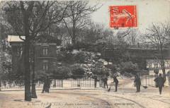 Buttes Chaumont - Porte Secrétan - Effet de neige 75 Paris 19e