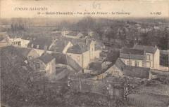 Saint Florentin Vue Prise Du Prieure Faubourg - Saint-Florentin