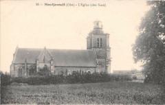 Montjavoult L'Eglise Cote Nord - Montjavoult