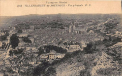 Villefranche De Rouergue Vue Generale - Villefranche-de-Rouergue