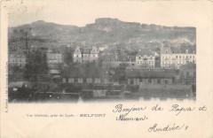 Vue Générale, prise du Lycée - Belfort
