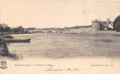 Villeneuve Sur Yonne Le Pont Et Le Quai (dos non divisé) - Villeneuve-sur-Yonne