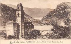 20 Corse Eglise De Patrimonio Au Fond Le Golfe De St Florent - Patrimonio