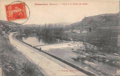 Bedarieux L'Orb Et Route De Latour - Bédarieux