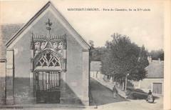 Montfort L'Amaury Porte Du Cimetiere - Montfort-l'Amaury