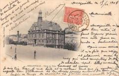 Decazeville Hotel De Ville (dos non divisé) - Decazeville