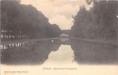 Tanlay Grand Canal Et Perspective (dos non divisé) - Tanlay