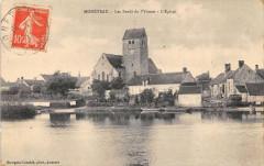 Moneteau Les Bords De L'Yonne Eglise - Monéteau