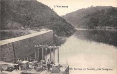 Auvergne Barrage De Sauviat Pres Courpiere - Sauviat